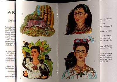 99ab81de9 Frida Kahlo Art Tattoos