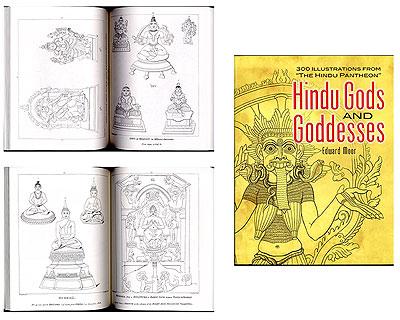 Hindu Gods And Goddesses By Edward Moor