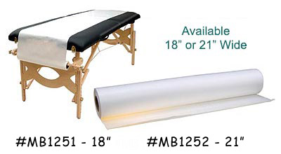 Mb1252 exam table paper rolls for 1 case of table paper