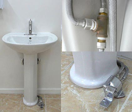 Hands Free Foot Operated Water Mixing Single Pedal
