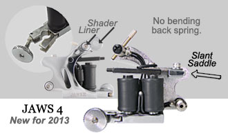 Tattoo Machines, Irons, Made by Unimax