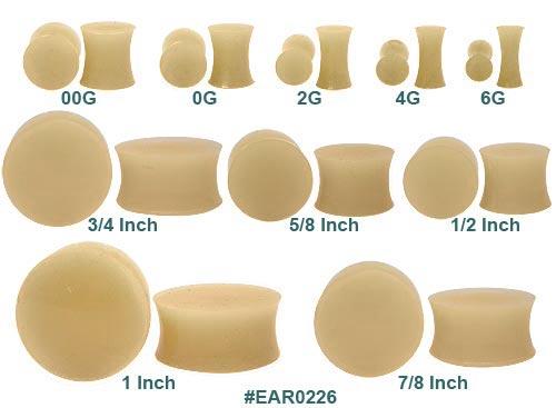sizes of ear gauges. body Size+00+gauges+ear