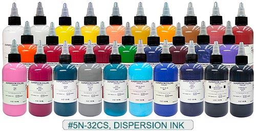 Tattoo Ink Colors >> Dispersion Tattoo Ink