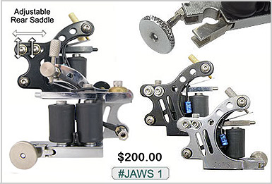 Jaws 1 Unimax Tattoo Machines
